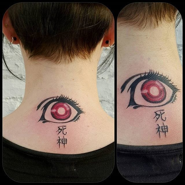 Design death note tattoo Ryuk fanart