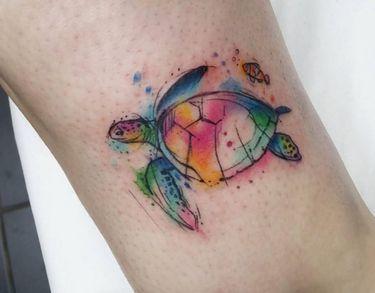 We Love Watercolor Animal Tattoos