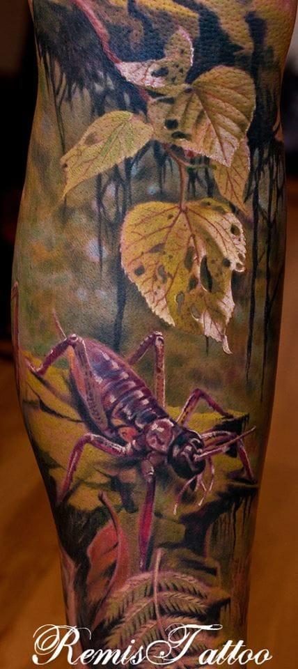 Beautiful nature tattoo