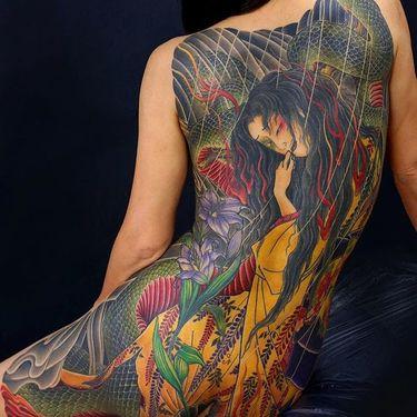 Exquisite Powerful Japanese Tattoos by Kenji Shigehara