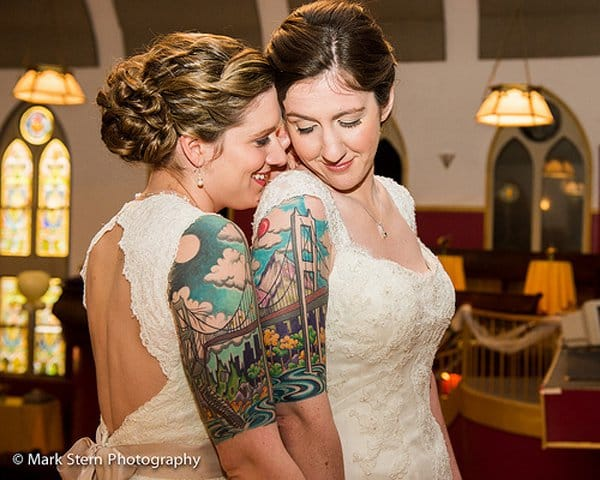 Couples can also get it as a cool matching tattoo! <3 Photo credit: Mark Stern.