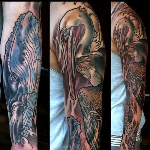 Intricate sleeve by Rachi Brains.