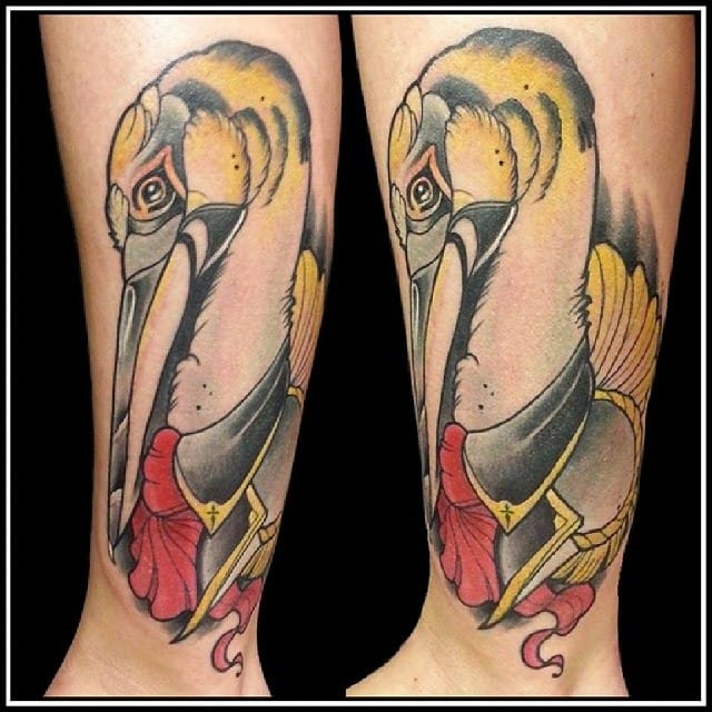Lovely neo traditional piece by Dennis Bernhardt.