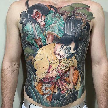 8 Graphic Seppuku Tattoos