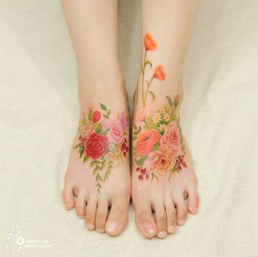 Painted Flowers: The Tattoos Of Silo