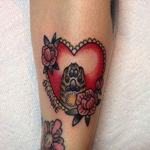 Cat Tattoo by Iris Lys