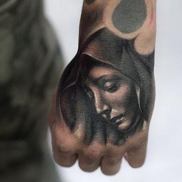 Dark Realistic Tattoos By Julien Thibers