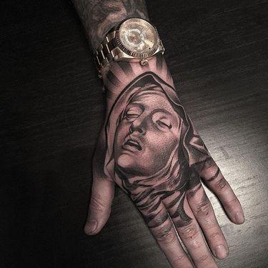Amazing Black and Grey Tattoos by Lil B