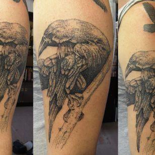 Odins Ravens Tattoo by Phoenix Tattoos #OdinsRavens #Odin #raven #Norse #PhoenixTattoos