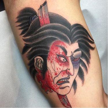 Brilliant Namakubi Tattoos By Acetates