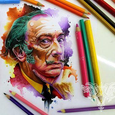 20 Fantásticas Obras De Arte Do Ilustrador e Tatuador Vareta