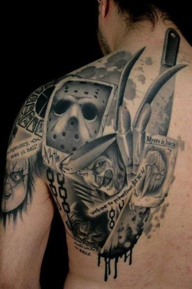 Awesome work by Clod The Ripper! #movie #movietattoo #clodtheripper