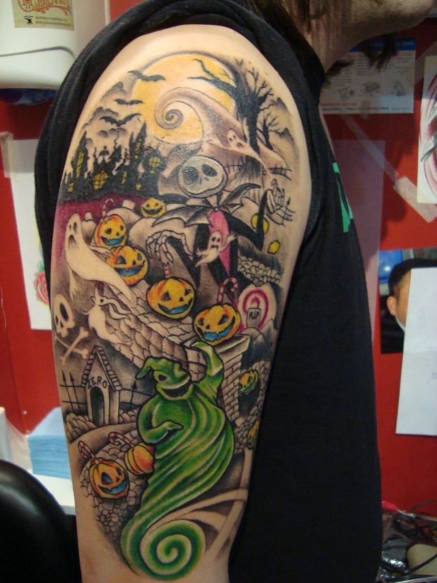 The Nightmare Before Christmas film tattoo