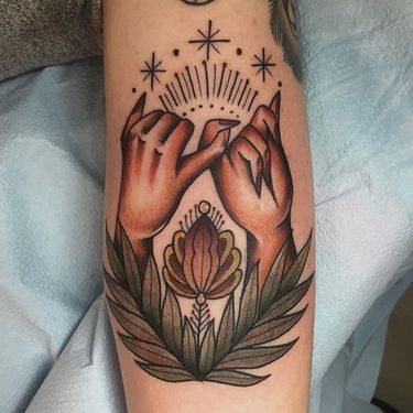Endearing Pinky Promise Tattoos