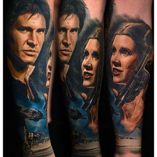 Star Wars tattoo via @nikkohurtado #NikkoHurtado #starwars #mayfourth #portrait