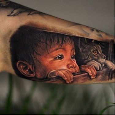 Breath-Taking Realistic Tattoos By Giena Revess