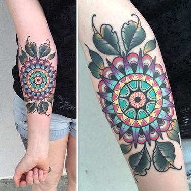 Bold and Beautiful: Colorful Tattoos by Katie McGowan