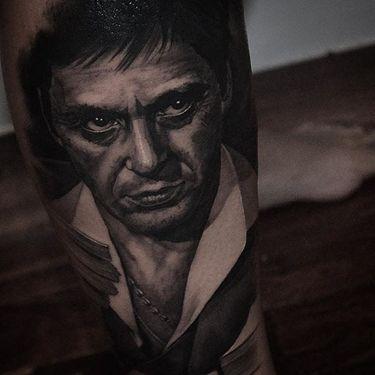 Brilliant Black & Grey Realism Tattoos By Ben Thomas