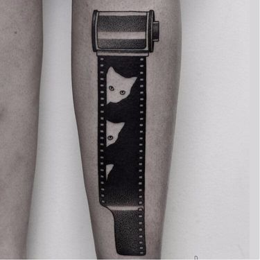 10 Creative Film Roll Tattoos