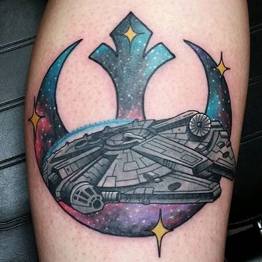 Join The Rebellion With Rebel Alliance Tattoos!