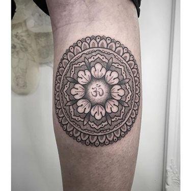 Ornamental Dotwork Tattoos by Virginia Ottani