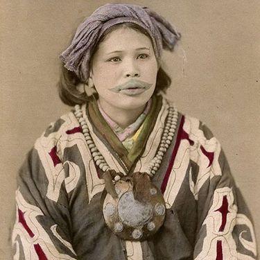 Tattoo History: The Tattooed Ainu Women of Japan