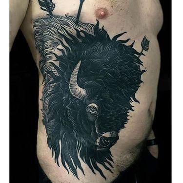 15 Lasting American Buffalo Tattoos