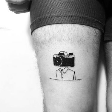 15 Lit Tattoo Ideas For The Raving Photographer