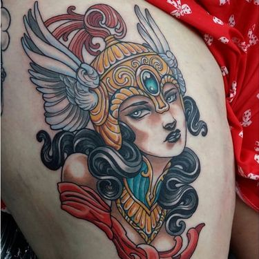 12 Mythological Valkyrie Tattoos