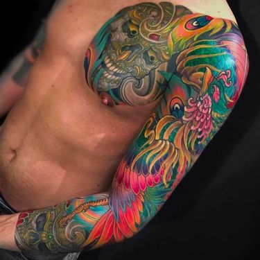Incredible Japanese Style Tattoos By Chris Crooks