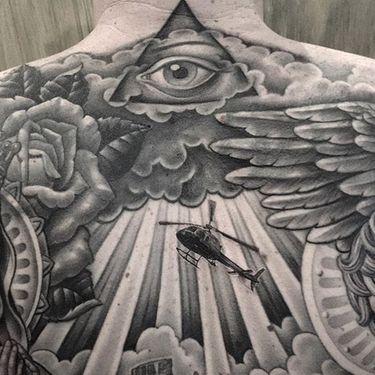 The Most Beautiful Black & Grey Tattoos By Chuey Quintanar