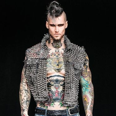 Marshall Perrin Is NOT Your Average Tattooed Model, He Saves Lives Too