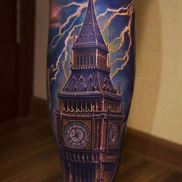 10 Colorful, Insanely Realistic Tattoos By Yan Vilks