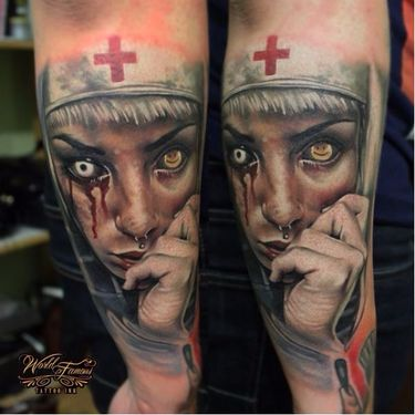 Impressive Realistic Tattoos By Sergey Shanko