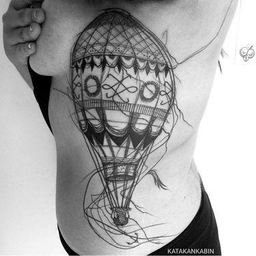 The Chaotic Linework Tattoos Of Katakankabin