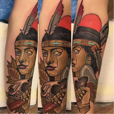 Outstanding Neo Traditional Tattoos by Piotr Gie