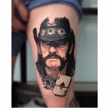 20 Tribute Tattoos To Motörhead And Lemmy