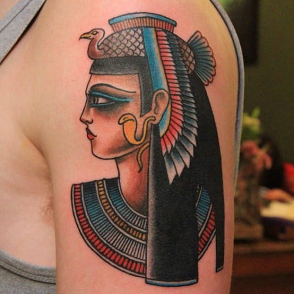 Isis Tattoo by Jaclyn Rehe
