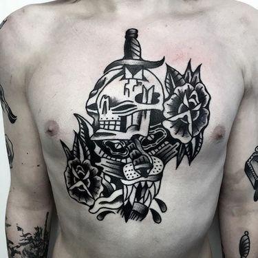 Robust Blackwork Tattoos by Roblake