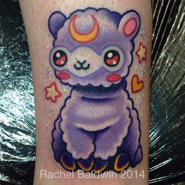 13 Cutest, Fluffiest, and Cuddliest Alpaca Tattoos