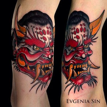 Sick Neo Traditional Tattoos by Evgenia Sin