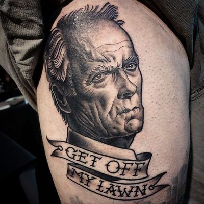 Movie Directors: Clint Eastwood Tattoos