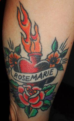 Tattoo denise duck Denise Schwitalle