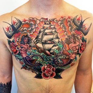 Great tattoo by La Familia Tattoo