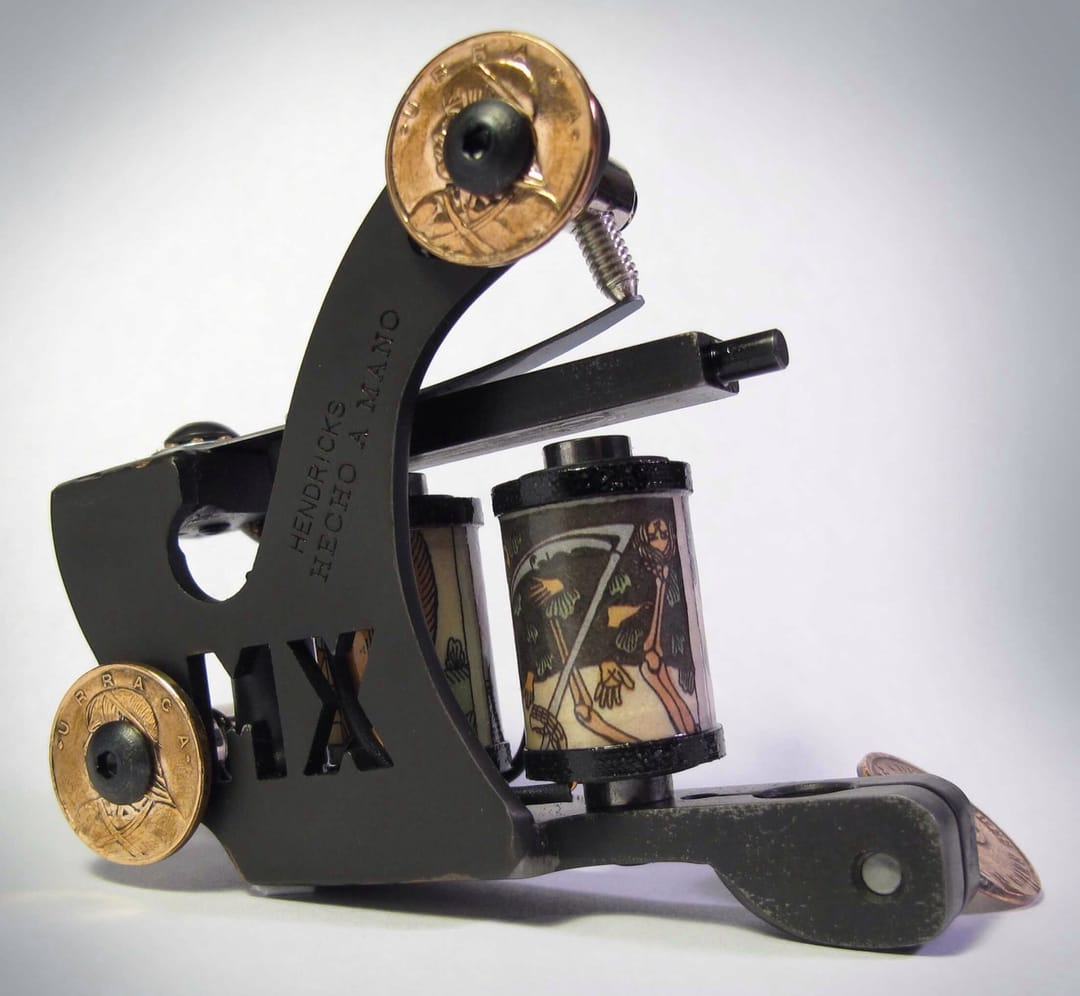 MX machine by Tim Hendricks exclusively for tattooers in Mexico.