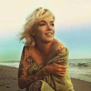 #marilynmonroe #cheyannerandall #indiangiver #tattooart