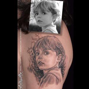 #AnilGupta #Portrait #blackandgrey #blackandgreyportrait #tattoo #bgis #ink_ig #taot #mastertattoos #tattoos #nyc #lowereastsidenyc #inked_mag #inklinestudionyc