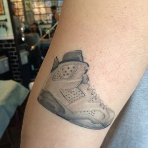 #micro #shoe #Jordan #DanSmith #tiny #blackandgrey