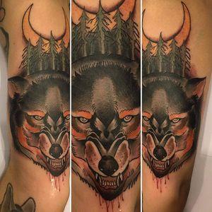 cesar666pimenta did this amazing piece! #neotrad #neotradsub #neotraditional #neotraditionaltattoo #inkedmag #tattooistartmag #TAOT #inkig #the_inkmasters #wolftattoo #tattoodo #tattooworkers #hustlebutterdeluxe #killerink #artoftattooing #inkjunkeys #skinart #tattoome #tattoo #tattoos #tattoouk #tattoosuk #uktta #brightandbold #classictattoo #londontattoo #globaltattoomag #camdentattoo #tattooaddicts #radtattoos