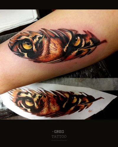 #tiger #feather
